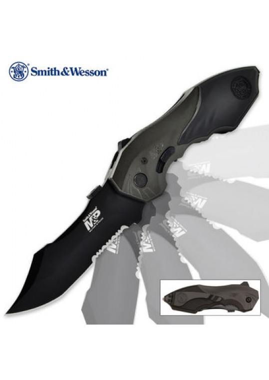 Canivete Tático Smith & Wesson SWMP5LSS